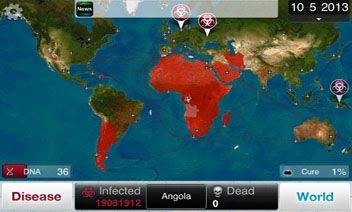 Idea growr world map plague inc julius huijnk game severity infectiousness deadly my app app quality viral cant find a better word gumiabroncs Gallery